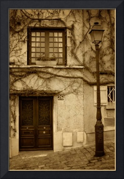 Paris Door Front