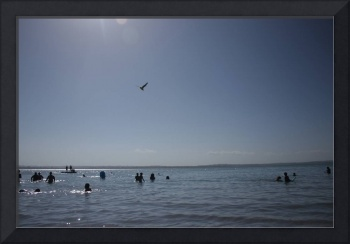 Fine Art Print, Summer Beach, Digital photo