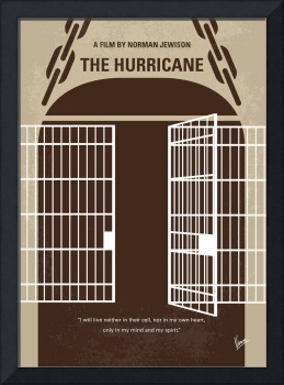 No570 My The Hurricane minimal movie poster