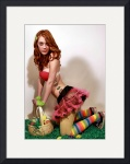 Easter Pin Up by Manda Malice
