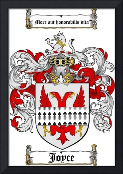 JOYCE FAMILY CREST - COAT OF ARMS