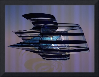Virtual Glass Sculpture XV