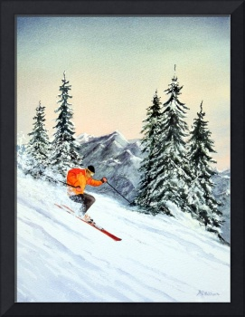 Skiing - The Clear Leader