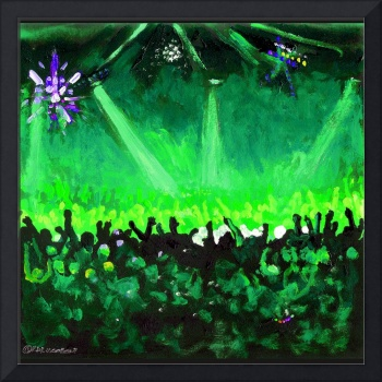 Disco Ball Dance-Green by RD Riccoboni