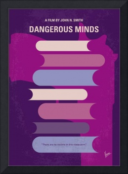 No655 My Dangerous minds minimal movie poster