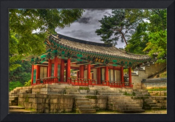 Pavillon at Gyeongbokgung Palace, South Korea