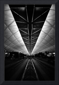 Vanishing in Hong Kong Airport