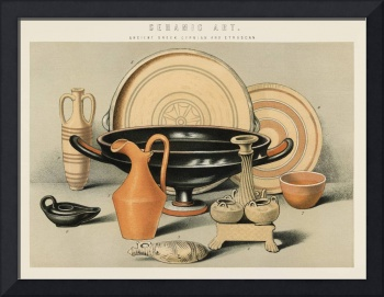 Ceramic Art Ancient Greek, Cyprian and Etruscan (1