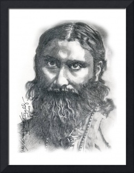 Hand Drawn Portrait of Hazrat Inayat Khan