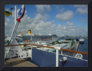 Ships at Fort Lauderdale, Florida USA