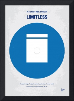 No828 My Limitless minimal movie poster