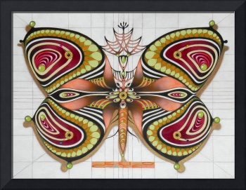Butterfly from the twenties