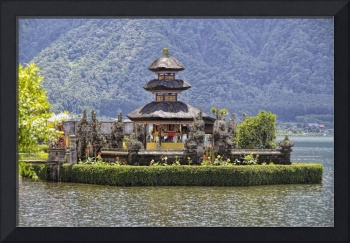 Temple On the Lake