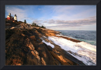 Pemaquid Point Lighthouse Seascape
