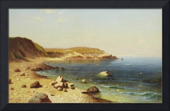 A HAGEN Russian Landscape from The Black Sea near