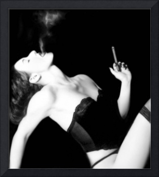 Smoke & Seduction - Self Portrait