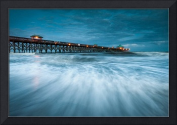 Folly Beach Blues - Folly Beach Pier Charleston SC