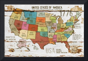 27x39 NEW ORL-2989-3 The United States of America