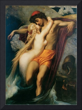 The Fisherman and the Syren by Leighton