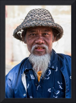 Elderly Burmese Man