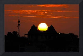 Sunset on a House of Dreams