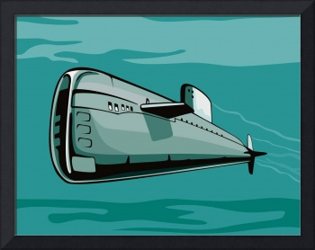 Submarine Boat Retro