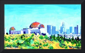 Observatory and Los Angeles by RD Riccoboni