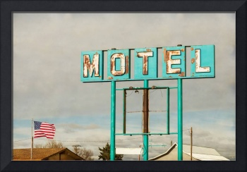 American Retro Motel Sign