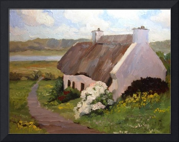 Thatched Roof Cottage, Ireland