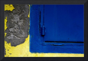 BLUE ON YELLOW & CONCRETE, #1