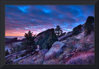 Red Rocks Sunrise Oct 14th 2009