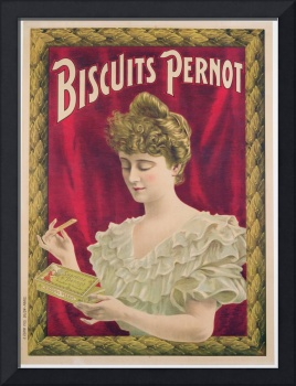 Poster advertising Pernot biscuits, c.1902