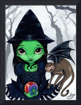 Wicked Witch and her Flying Monkey :  Wizard of Oz