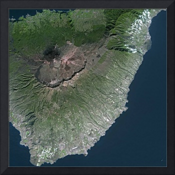 Tenerife (Spain) : Satellite Image