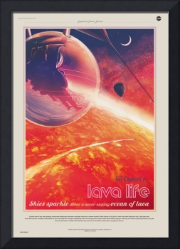 Nasa Travel Poster 55-cancri-e