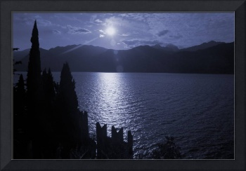 Lago di Garda, in blue (Italy)