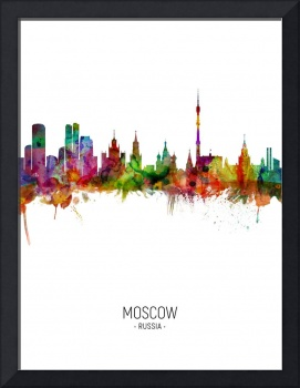 Moscow Russia Skyline
