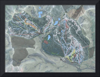 Big Cottonwood Canyon Trail Map