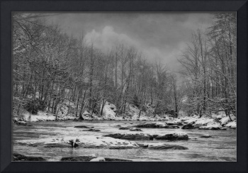 Panther Creek in Snow#4