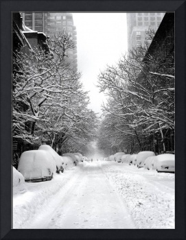 East 84th Street, Blizzard Lane, NYC