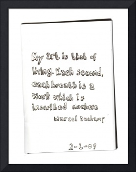 Quote #2 (Marcel Duchamp)