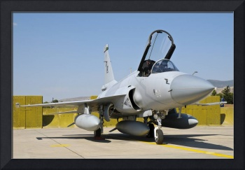 A JF-17 Thunder of the Pakistan Air Force