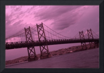 I-74 bridge Infrared
