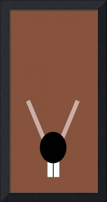 Minimalist Muppets - Rizzo the Rat