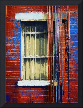 Barred Window, Hell's Kitchen