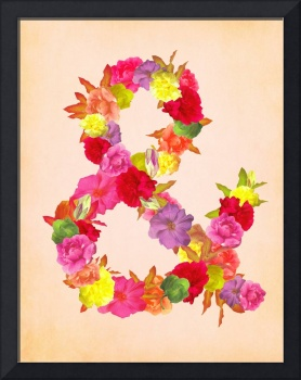 Flower Ampersand