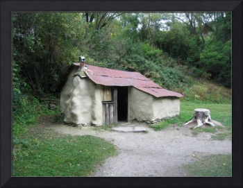 Restored Chinese hut at Arrowtown