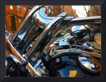 Painting Cold Chrome New York