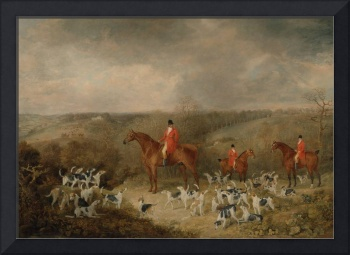 Dean Wolstenholme~Lord Glamis and his Staghounds