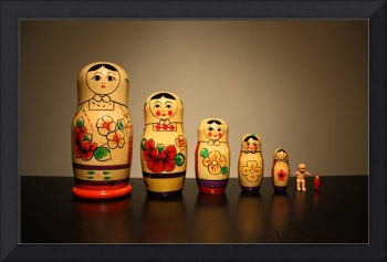 King Cake Baby and the Nesting Dolls